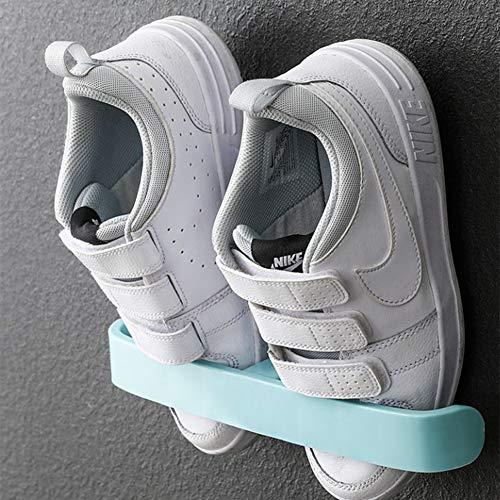 LJKD Zapatero de Pared Caja de Almacenamiento de plástico Estante de Almacenamiento de Zapatos 5 Piezas