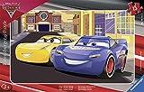 Ravensburger Italy- Cars 3 Puzzle Incorniciato, 06147 1...
