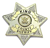 Minimum Mouse The Walking Dead King County Sheriff Badge