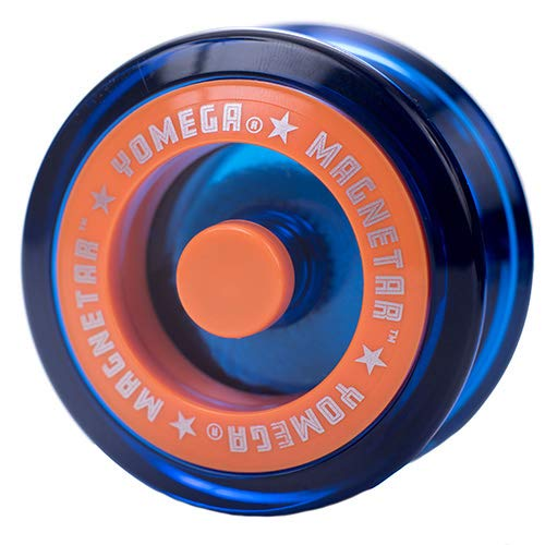 Yomega Magnetar Responsive High Performance Ball Bearing Yoyo for Kids, Designed for Beginners and Advanced String Trick and Looping Play. + Extra 2 Strings. + 3 Months Warranty (Blue)