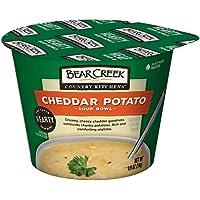 6-Pack Bear Creek Cheddar Potato Hearty Soup Bowl, 1.9 Ounce