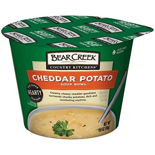 Bear Creek Hearty Soup Bowl, Cheddar Potato, 1.9 Ounce (Pack of 6)