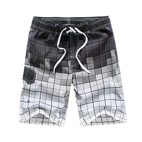 Maillot de Bain Hommes, Manadlian Shorts de Bain Ete...