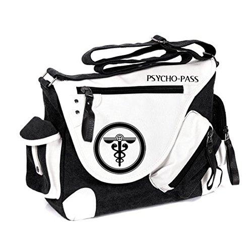 YOYOSHome Anime Psycho-Pass Cosplay Messenger Bag Handtasche Crossbody Rucksack Schultasche Umhängetasche