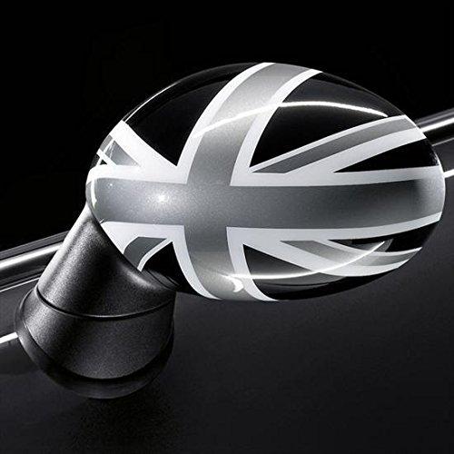 Mini Original Außenspiegelkappen Abdeckung Spiegel Black Jack R55 R56 R57 R58 R59 R60 R61 - o. Anklappf.