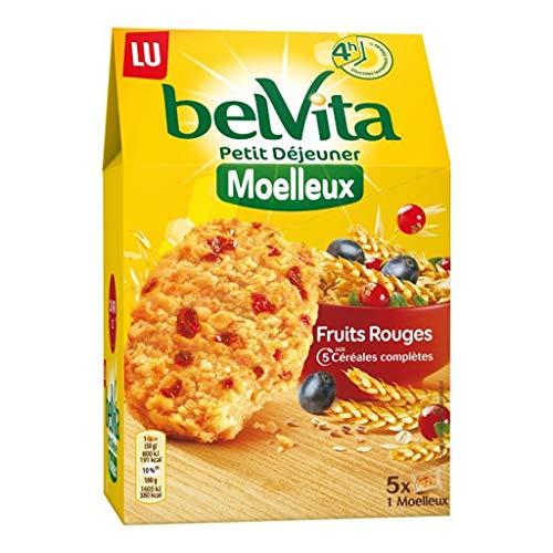 Lu Belvita Petit à © Fasten Soft Fruits Rouges Aux 5 Cã © à © Ales Complètes 250G (6er-Set)