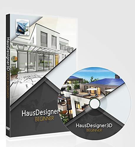 HausDesigner3D Beginner 2021 - 2D/3D CAD Hausplaner Software & Architektur Programm für die Grundrisserstellung, einsetzbar als Raumplaner Einrichtungsplaner & zur 3D Visualisierung