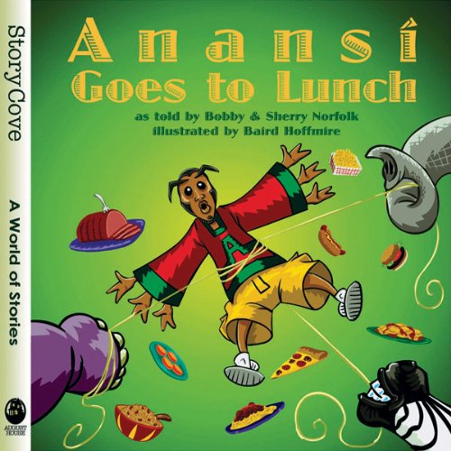 Anansi Goes to Lunch audiobook cover art