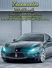 Traumautos Malbuch – Maserati, Pagani, Alfa Romeo, Lancia - Italienische Legenden zum Ausmalen: Set mit über 50 Abbildungen für Kinder und Erwachsene (German Edition)