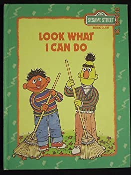 Look what I can do - Book  of the Sesame Street Book Club