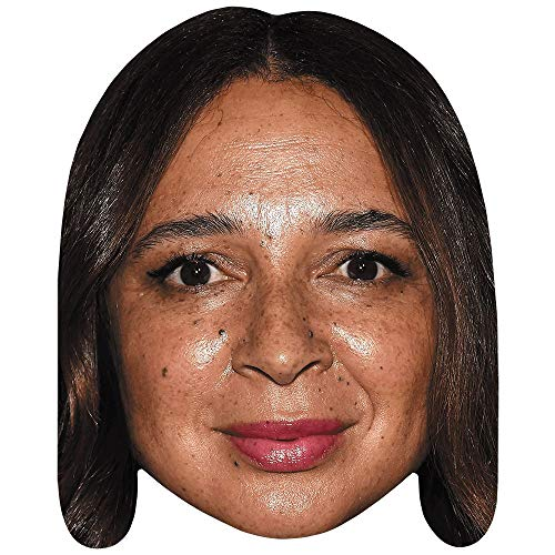 Celebrity Cutouts Maya Rudolph (Lipstick) Maske aus Karton