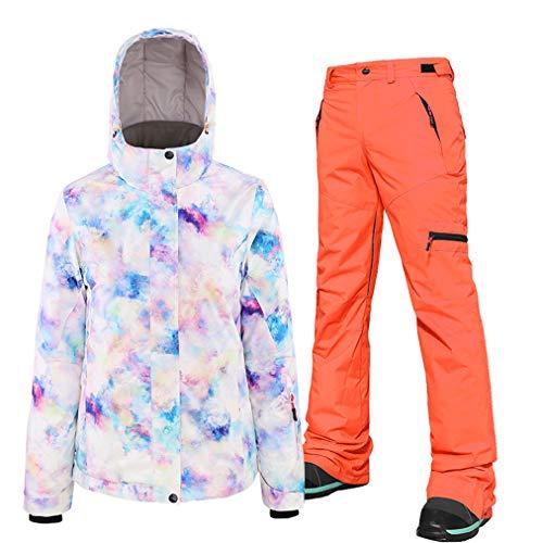 Les kostuums voor dames, skipak, 2019, winterskipak, snowboard, winterjas, snowboardbroek, sneeuwjas, ski-jack en broek set voor ski's en sneeuwscooters