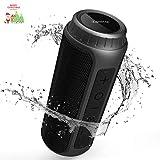 Zamkol 30W Bluetooth Lautsprecher, IPX6 Wasserdichter Wireless tragbarer TWS Lautsprecher, AUX und...