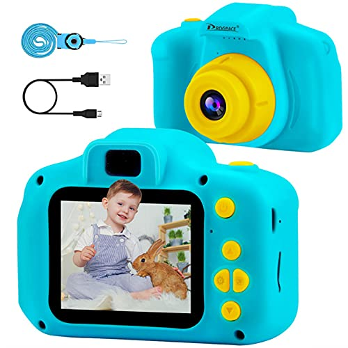 PROGRACE Kids Camera Children Digital Cameras for Boys Girls Birthday Toy Gifts 4-12 Year Old Kid...