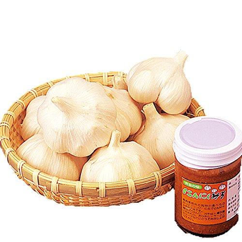 青森県産 大玉にんにく 1kg にんにく味噌200g付【送料込】