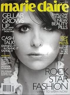 Marie Claire Magazine, November, 2006