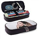 Astuccio per matite A-Riana G-rande Astuccio per penna Cartoleria Kit di archiviazione portatile per ufficio Custodia per cosmetici in pelle