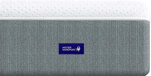 Mister Sandman Premium Latexmatratze, Polyester, Kaltschaummatratze, 200 x 200 cm
