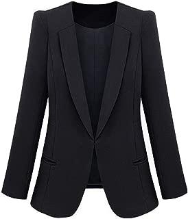 Acquista Autunno Giacche Gilet Da Donna OL Lavoro Gilet Femminile Nero Lungo Tops Cinture Primavera Ruffles Collar Signore Cappotti Elegante Gilet