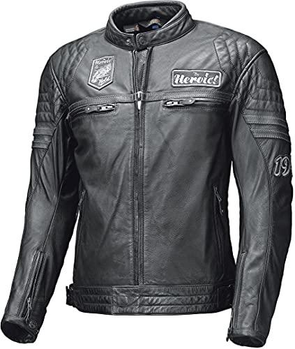 Held Motorradjacke mit Protektoren Motorrad Jacke Baker Lederjacke schwarz 54, Herren, Chopper/Cruiser, Sommer