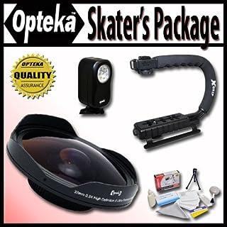 小さくてコンパクト Opteka Deluxe Skaters「パッケージ(..を含む)