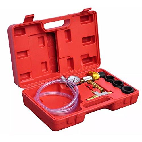 Xinglieu Kit pour Le Remplissage Circuits Refroidissement Auto système Facile à Utiliser, Transporter et fixez Accessoires pour véhicules boîte à Outils du véhicule