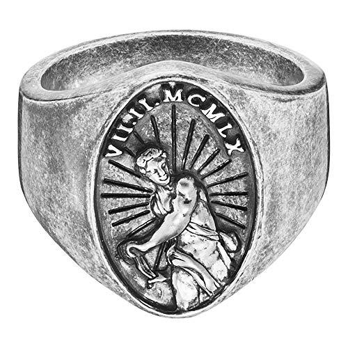 caï Ring Antique Century aus 925 Sterling Silber-58