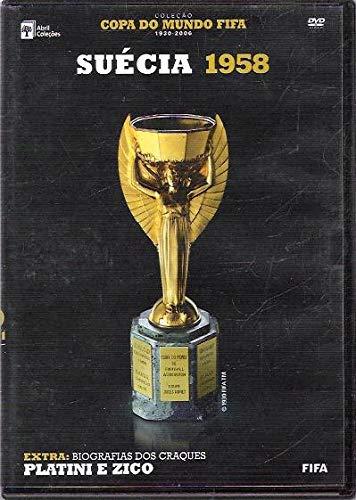 Dvd Suécia 1958 - Extra Biografias Zico e Platini (Lacrado de Fabrica)