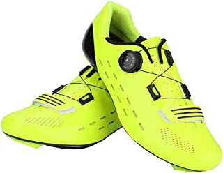 VGEBY1 Bicycle Shoes, Carbon Fiber Lightweight Wear Resistant Bike Footwear Cycling Shoes Accessory
