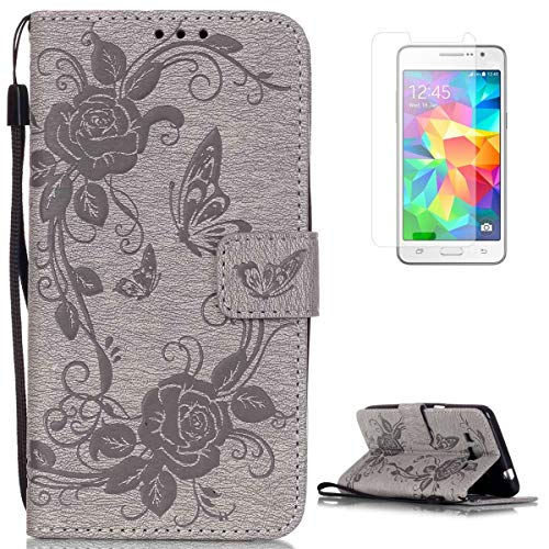 CaseHome Compatible For Samsung Galaxy Grand Prime SM-G530 Wallet Funda,Carcasa...