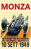 Poster Grand Prix Monza Grand Prix Print, Grand Prix Decor