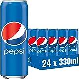 Pepsi Cola, Das Original von Pepsi, Koffeinhaltige Cola in der Dose, 24 x 0,33l