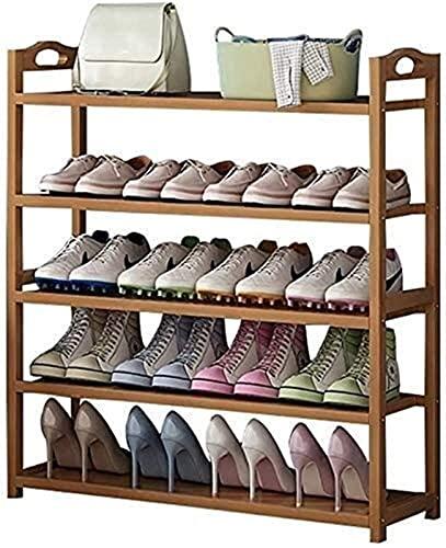 KCGNBQING Zapato Estante zapatería banqueta de Almacenamiento de Madera 3 6 Pisos para el Corredor Organizador Asiento de Inodoro Estante de Madera Estante Multifuncional Estante de Almacenamiento de