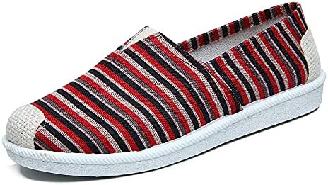 Women's Lightweight Slip On Sneakers Walking Flats Casual Art Painted Travel Shoes