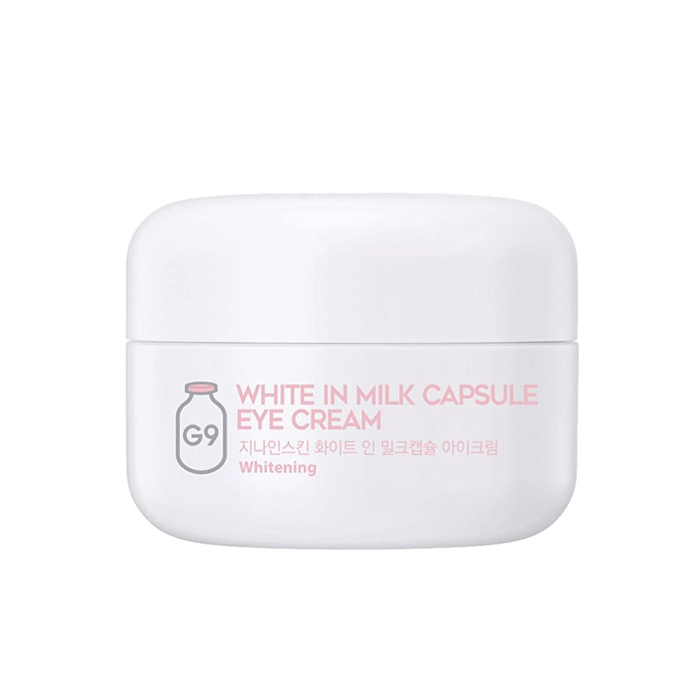 交響曲ボウリングほうきG9SKIN(ベリサム) White In Milk Capsule Eye Cream ホワイトインミルクカプセルアイクリーム 30g