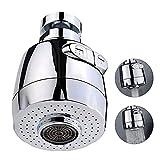 Qoosea 360 °Swivel Sink Faucet Extended Bubbler Tap Aerator Water Saving Faucet Filter Tap Aerator Filter Tap...
