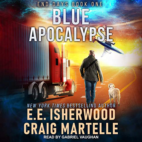 Blue Apocalypse audiobook cover art