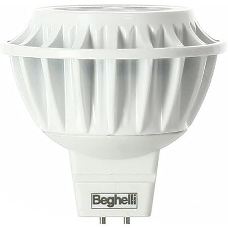 BEGHELLI 56045 LAMPADA ECO MR16 LED 6W 12V GU5.3 3000K LUCE CALDA