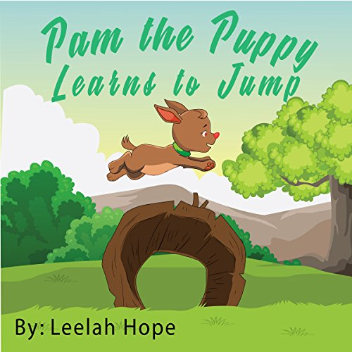 Pam the Puppy Learns to Jump audiobook cover art