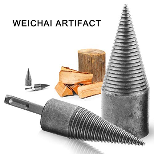 Best Price Zhengpin Wood Splitter, Log Splitter Drill Bit Screw Cone Splitting Wood Cone Log Splitte...