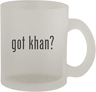 got khan? - 10oz Frosted Coffee Mug Cup, Frosted
