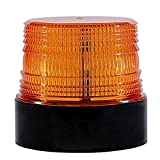 LED Beacon Lights 12V Amber Strobe Warning Light for Cars Trucks Vehicles,Wireless,,Rechargeable,Magnetic