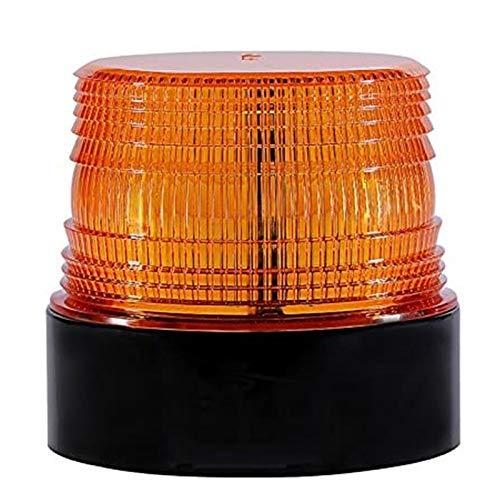 Luz LED estroboscópica luz destellante coche Advertencia Flash de Emergencia para Camion vehículo 12-24V LED Luminosa Magnética de Emergencia Recargable-Inalámbrico