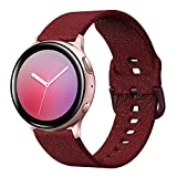 YSSNH Compatible with Samsung Galaxy Watch Active 2 40mm 44mm Band Glitter Silicone 20mm Quick Release Watch Bands Sparkly Bling Replacement Wristband Accessory for Samsung Galaxy Watch3 41mm