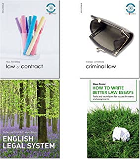 Valuepack:Law of Contract./Criminal Law/Elliott and Quinn:English Legal System/How to Write Better Law Essays:Tools and Te...