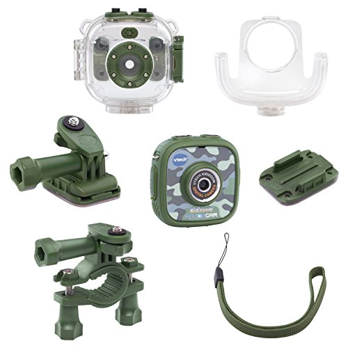 VTech Kidizoom Action Cam Amazon Exclusive, Camouflage