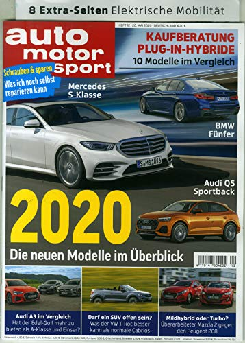 "Auto Moto Sport 12/2020 \""2020\"""