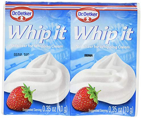 Whip It Stabilizer for Whipping Cream, CASE, 30x(2x10g)