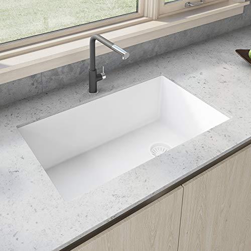 Ruvati Single Bowl Kitchen Granite Composite Sink