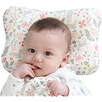 Baby Pillow Baby Pillows for Sleeping Newborn Head Protection Cushion Four Seasons Available Black dot